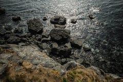 Scogliera rocciosa Immagine Stock