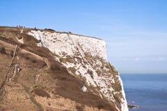 Scogliere bianche di Dover Immagini Stock