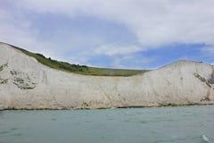Scogliere bianche di Dover, Regno Unito Immagini Stock