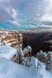 Scogliere del grande canyon Fotografia Stock