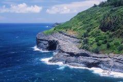 Scogliere del Kauai Fotografia Stock