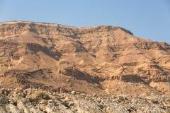Scogliere del mar Morto fotografia stock libera da diritti