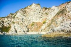 Scogliere del mare italiano Fotografia Stock Libera da Diritti