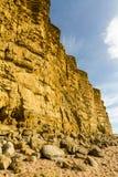 Scogliere dell'arenaria della baia ad ovest Fotografia Stock