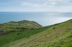 Scogliere della costa di eredità di Purbeck Fotografie Stock Libere da Diritti