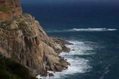 Scogliere della Provincia del Capo Occidentale Fotografia Stock