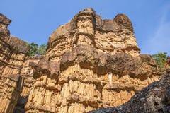 Scogliere della roccia di Pha Chor, Chiang Mai, Tailandia immagine stock libera da diritti