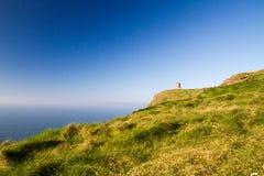 Scogliere della torre Irlanda di OBriens e di Moher Immagine Stock