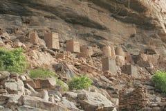 Scogliere di Bandiagara Fotografia Stock Libera da Diritti