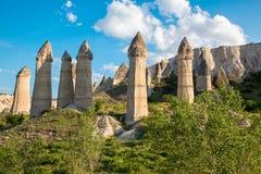 Scogliere di Cappadocia Immagine Stock Libera da Diritti