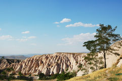 Scogliere di Cappadocia - paesaggio naturale astonishing Immagini Stock Libere da Diritti