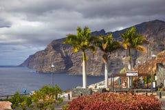 Scogliere di Los Gigantes, Tenerife Fotografie Stock Libere da Diritti