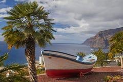 Scogliere di Los Gigantes, Tenerife, isole Canarie Fotografia Stock