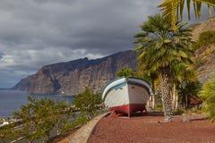 Scogliere di Los Gigantes, Tenerife, isole Canarie Fotografie Stock