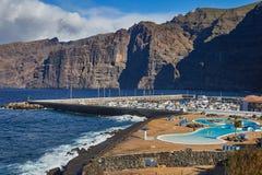 Scogliere di Los Gigantes, Tenerife, isole Canarie Immagini Stock