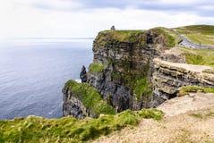 Scogliere di Moher in contea Clare, Irlanda Immagine Stock