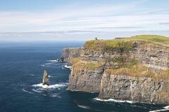 Scogliere di Moher Irlanda Fotografie Stock Libere da Diritti