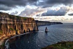 Scogliere di Moher, Irlanda Fotografie Stock Libere da Diritti