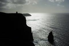 Scogliere di Moher, Irlanda fotografia stock libera da diritti
