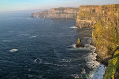 Scogliere di Moher in Irlanda ad ovest Fotografia Stock Libera da Diritti