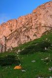 Scogliere di Piatra Craiului - Romania Fotografie Stock Libere da Diritti
