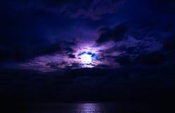 Scogliere di tramonto Fotografia Stock
