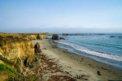 Scogliere e spiagge Fotografia Stock Libera da Diritti