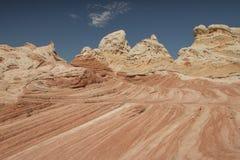 Scogliere monumento nazionale, colline di Vermilion del coyote fotografia stock libera da diritti