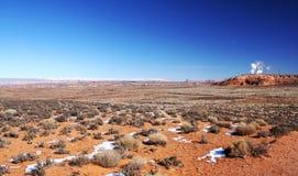 Scogliere regione selvaggia, Utah, U.S.A. di Canyon-Vermigli di Paria Immagine Stock Libera da Diritti