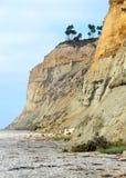 Scogliere su una spiaggia Fotografia Stock