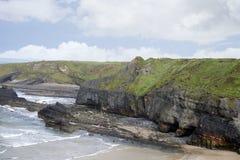 Scogliere sulla spiaggia delle suore Fotografia Stock Libera da Diritti
