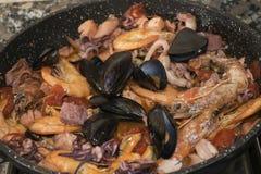 Scoglio соуса allo Стоковое Фото