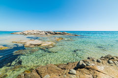 Scoglio Di Peppino παραλία Στοκ φωτογραφίες με δικαίωμα ελεύθερης χρήσης
