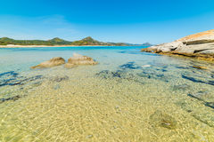 Scoglio plaża Di Peppino Zdjęcie Stock