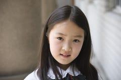 Scolara elementare asiatica Fotografie Stock Libere da Diritti