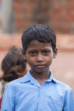 Scolari indiani felici Fotografia Stock Libera da Diritti