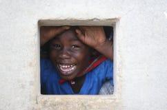Scolaro nel Surinam Fotografia Stock