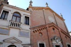 Scoletta del Santo et éloquence de San Giorgio à Padoue en Vénétie (Italie) Photos stock