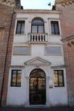 Scoletta del Santo y oratorio de San Jorge en Padua en el Véneto (Italia) Fotografía de archivo
