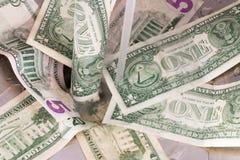 Scolo dei soldi Fotografia Stock Libera da Diritti