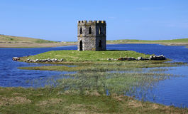 Scolpaig Tower Castle, North Uist Royalty Free Stock Photo