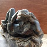 Scolpture da mulher Imagens de Stock Royalty Free