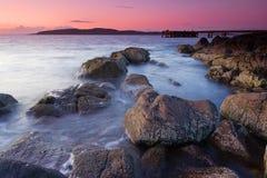 scoltland ηλιοβασίλεμα στοκ εικόνα με δικαίωμα ελεύθερης χρήσης
