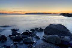 Scoltland Sonnenuntergang Stockfotos