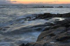 Scoltland Sonnenuntergang Stockfotografie