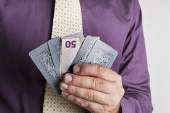 Scommessa dell'euro Fotografie Stock