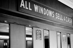 Scommessa della finestra Fotografie Stock Libere da Diritti
