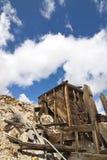Scomparto del minerale metallifero della miniera di oro di Lorena Fotografia Stock Libera da Diritti