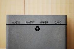 Scomparto di riciclaggio Fotografie Stock