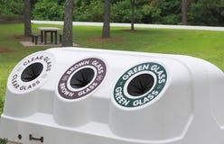 Scomparto di riciclaggio Fotografie Stock Libere da Diritti